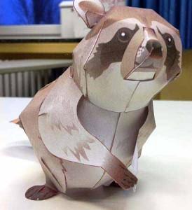 3D Papierfiguren
