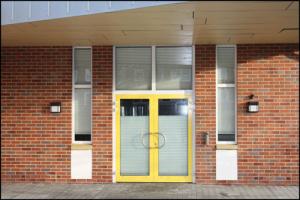 Aulaeingang-Oberschule-Borssum